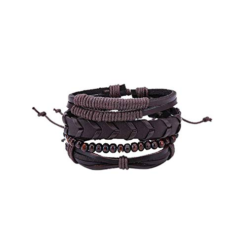 CAIYCAI Bracelets Bangles Mens Leather Bracelets Pulseira for sale  Delivered anywhere in USA