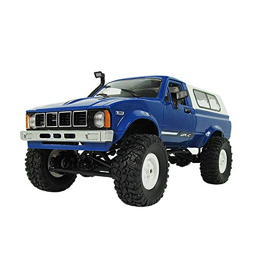 Christmas Gift Hot Sale!!Kacowpper WPL WD 1:16 RC Crawler Military Truck Assemble Kit Remote Control Vehicle Toy