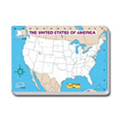 Jumbo Map Pad Us Blank 30/pk [Set of 2] ()