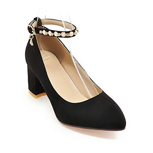 1TO9 Sandales Noir Noir 5 36 EU Compensées Femme MMS06232 vPrRwq7v