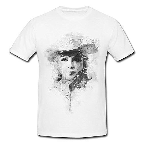 Marilyn Monroe VI T-Shirt Herren, Men mit stylischen Motiv von Paul Sinus