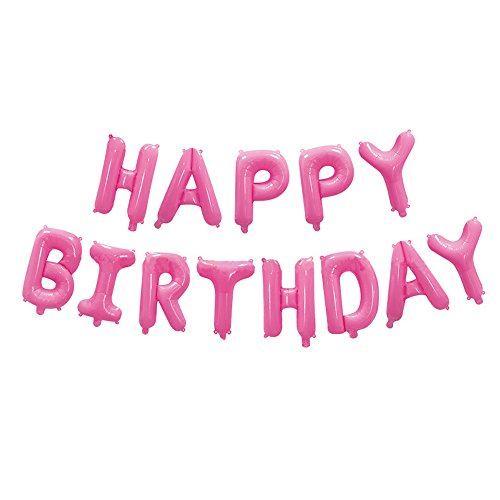 16 Inch Happy Birthday Foil Balloons Birthday Banner for Birthday Party Decoration -