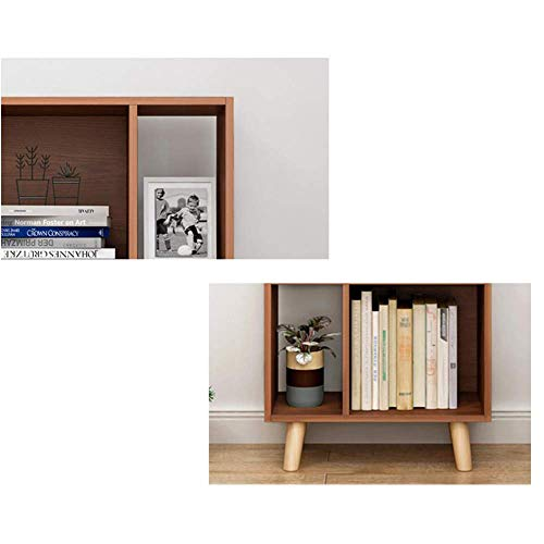 (DEED Children's Bookshelf Space Saving Bookcases Modern Floor Book Shelf,Nordic Multi-Layer Rack Storage Rack Simple Student Bedroom Home Office Living Room Furniture Combination Storage Rack,Metalli)