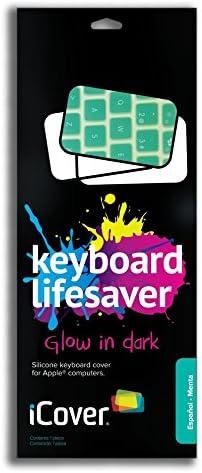 iCover Lifesaver - Protector para teclados de Apple, Color neón Menta