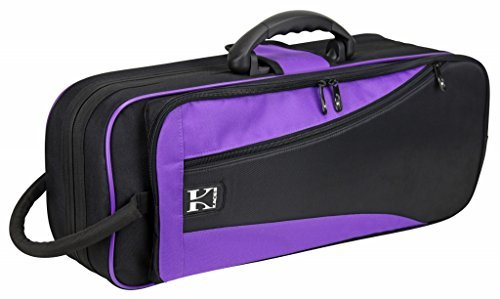 Kaces KBO-TRPP Lightweight Hardshell Trumpet Case, Purple