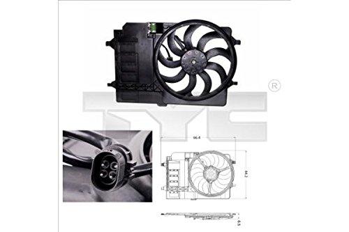 Ventilateur Moteur Ventilateur Ventilateur refroidissement ventilateur original TYC (803– 0001)