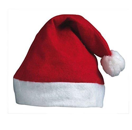 12 x父クリスマスサンタハット – クリスマスファンシードレスFestival帽子サンタクロースレッドandホワイトBobble Elf by B01MRHZXOR Elf Red Red Star B01MRHZXOR, 薩摩川内市:653012d6 --- gamenavi.club