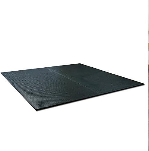 純国産 ユニット畳 正方形 70×70cm ブラック 連結可能 抗菌 防臭 青森ヒバ加工 置き畳 コンパクト 軽量 【1枚単品】