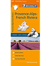 Michelin France: Provence French Riviera Map 527
