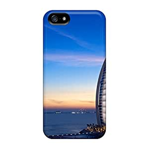 Premium Tower Of The Arabs Back Cover Snap On Case For Iphone 5/5s