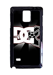 DC Famous Stars Straps Custom Image Case, Diy Durable Hard Case Cover for Samsung Galaxy Note 4 , High Quality Plastic Case By Argelis-Sky, Black Case New