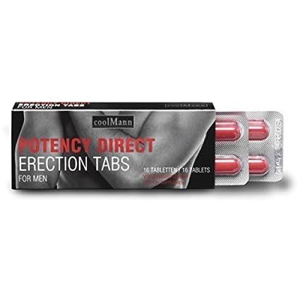 POTENCYDIRECT Cápsulas * sólidas erecciones más ganas * ayuda potencia sexual prolongada significa * erección potencia