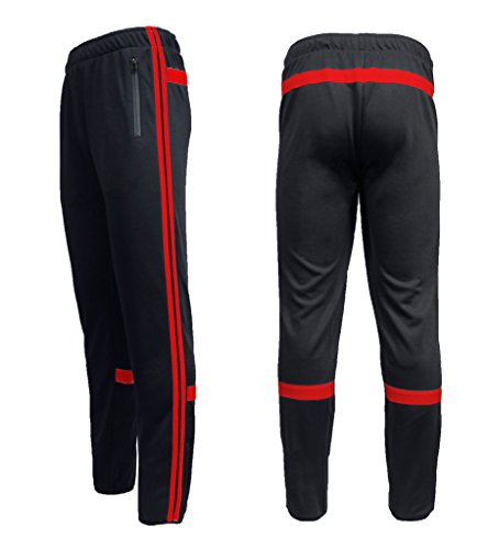 Black And Red Pants - 5