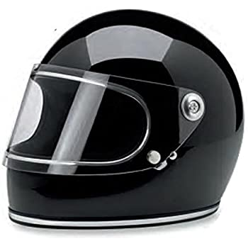 Biltwell Gringo S Solid Full-face Motorcycle Helmet - Gloss Black / Large