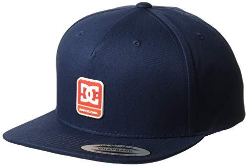 DC Men's Snapdragger Snapback Hat, Black iris, 1SZ Dc Shoes Athletic Cap