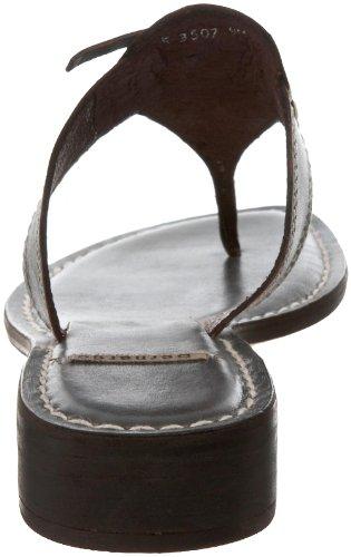Bernardo Kvinners Jay / Ecco Gni Thong Sandal Blå / Sjokolade