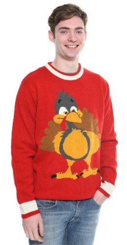 Ugly Turkey Costume (The costumeshop Turkey Sweater, size XL)