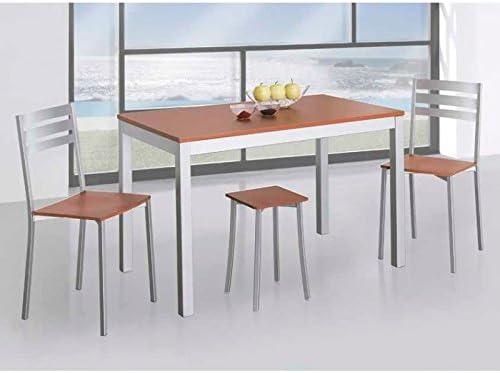 Amuebla 366. Mesa DE Cocina Fija DE 120 X 70 CM.: Amazon.es: Hogar