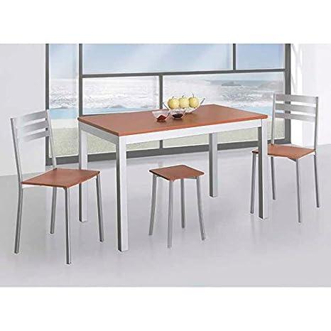Amuebla 380. Mesa DE Cocina Extensible DE 120 X 70 CM ...