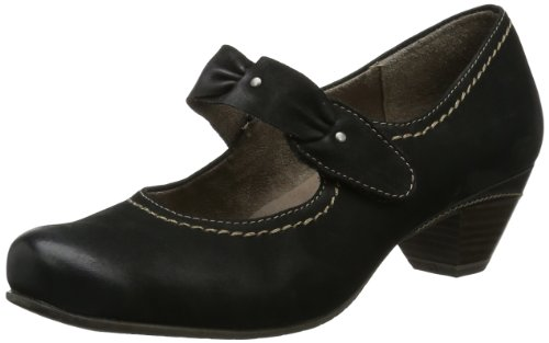 black Tamaris Womens Black 001 Closed Schwarz fx6I8Cq