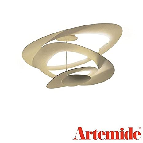 Artemide Pirce Mini Led Lámpara de techo dorado 1255120 a ...
