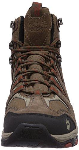 Jack Wolfskin MOUNTAIN ATTACK MID TEXAPORE M Herren Trekking- & Wanderstiefel Braun (earth orange 3720)