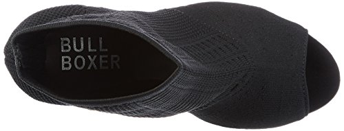 Noir Femme Bullboxer Escarpins Heels Ouvert Bout Blck Black q6xaAwXx