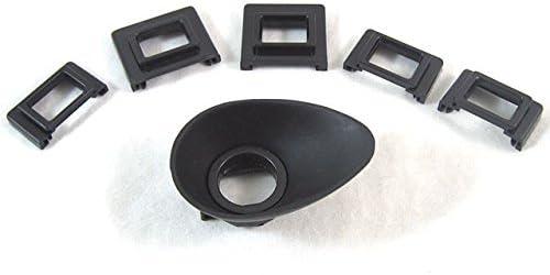 Universal Eyecup/Ocular Ven con Cinco adaptadores para Canon Nikon ...