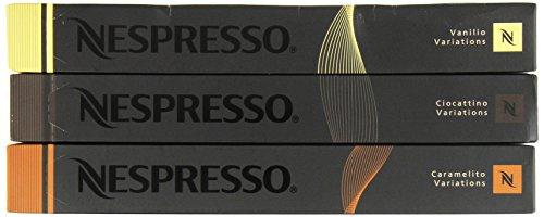 Nespresso OriginalLine ~LIMITED EDITION~ Caramelito Ciocattino Vanilio, 30 Count - ''NOT compatible with Vertuoline