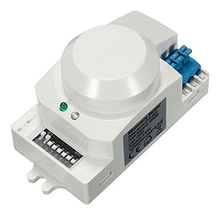 MASUNN Sk-600 Ac 220V-240V 5.8 Ghz Microondas Radar Sensor Cuerpo Movimiento Hf
