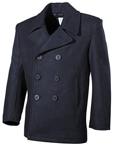 MFH uS pea coat bleu XL