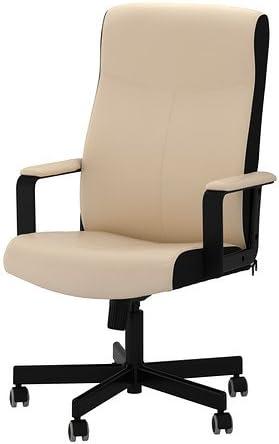 Ikea Malkolm Chaise pivotante, beige
