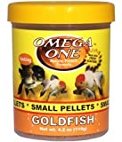 Omega One Goldfish Pellets - Small Sinking 4.2oz.