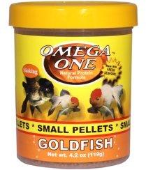 OMEGA One Goldfish Pellet Small 4.2oz