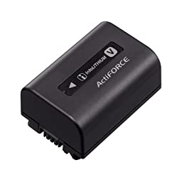 Sony InfoLithium V NP-FV50 Camera/Camcorder Battery. SONY INFOLITHIUM V SERIES BATTERY PACK 1030MAH CAMBAT. 1030 mAh - Lithium Ion (Li-Ion) - 8.4 V DC