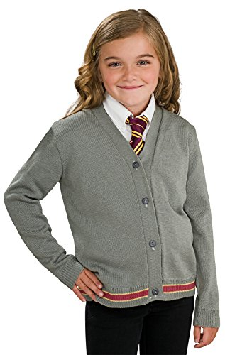 Blood Brothers Costume Review (Harry Potter, Child's Hermione Cardigan and Tie, Large)