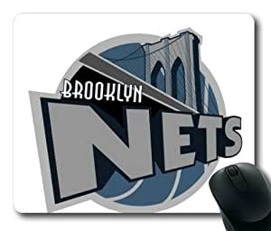 Customizablestyle Brooklyn Nets Logo Mousepad, Customized Rectangle DIY Mouse Pad