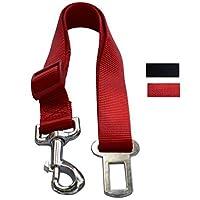 Cinturones de seguridad para vehículos de Lanyarco Holiday Red Pet Seat Cinturón de seguridad para perros