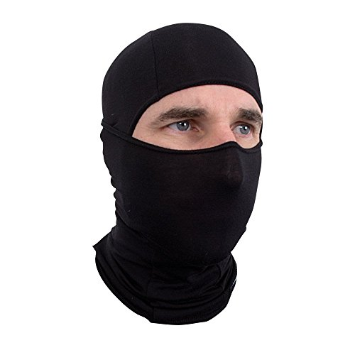 Schampa Lightweight Deluxe Balaclava Black product image