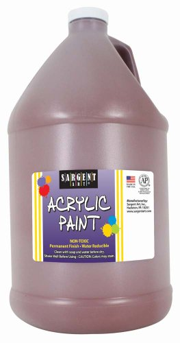 Sargent Art 22-2788 64-Ounce Acrylic Paint, Brown