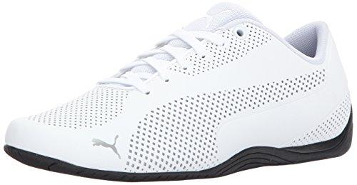 - PUMA Men's Drift CAT Ultra Sneaker, White Black, 10.5 M US