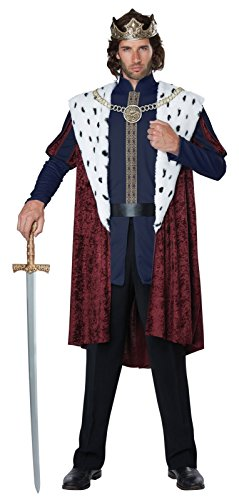 California Costumes Royal Storybook King Adult Costume-Small/Medium
