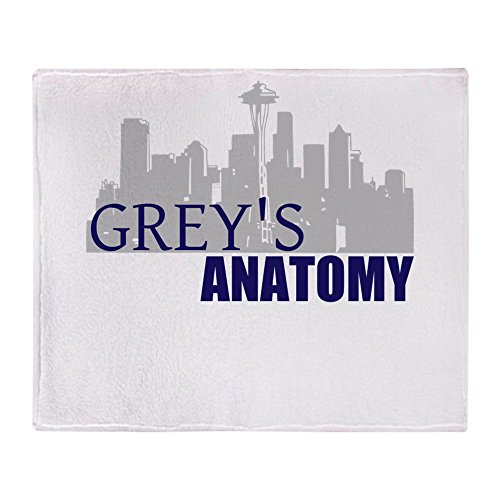 CafePress - Grey's Anatomy - Soft Fleece Throw Blanket, 50