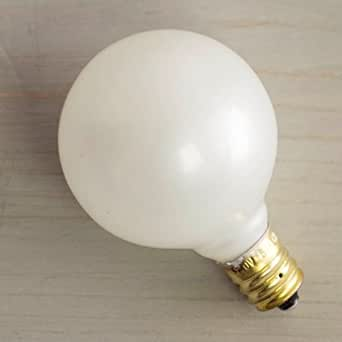 Replacement Globe Light Bulb G40 5w 130v E12 Base