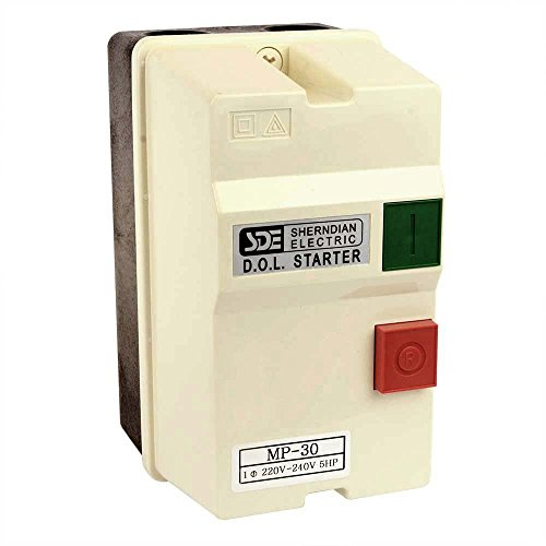 Big Horn 18825 1-Phase, 220-240-Volt, 5-HP, 22-34-Amp Magnetic Switch - UL Approved