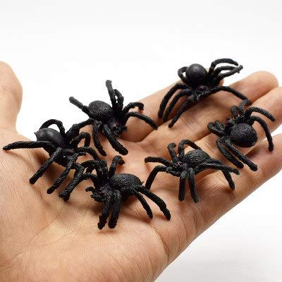 SaveStore 10pcs Prank Lifelike Spider Centipede Scorpion Simulation Fake Roach Funny Trick Toys for Halloween Party House Decor