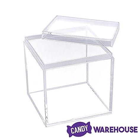 Amazon.com: Yum Junkie - Juego de 12 cajas de acrílico con ...