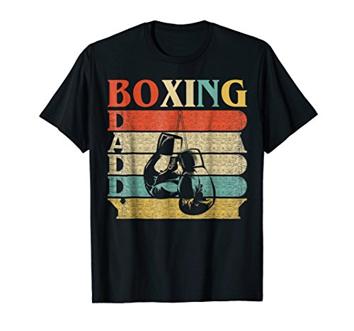 - Retro Vintage Daddy Boxing T-Shirt Funny gloves Dad Gift