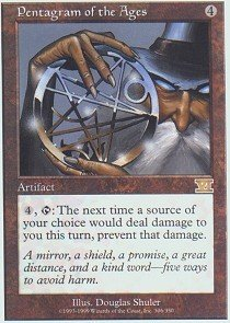 Pentagram Magic - Magic: the Gathering - Pentagram of the Ages - Sixth Edition