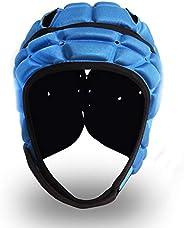 Soft Football Helmet, Youth and Adult Football Kits, Ultra-Thin Soft Protective Helmet, Head Fall Protection,